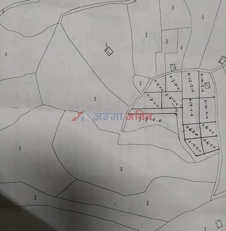 8 ropani land at Kotdanda, Godawari