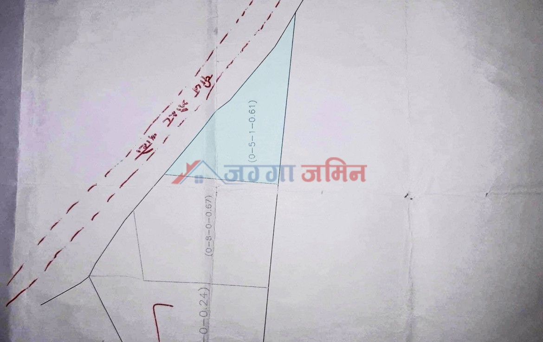 5 anna land Jharuwarasi