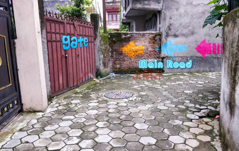 8 anna land sale at ranibari, kathmandu