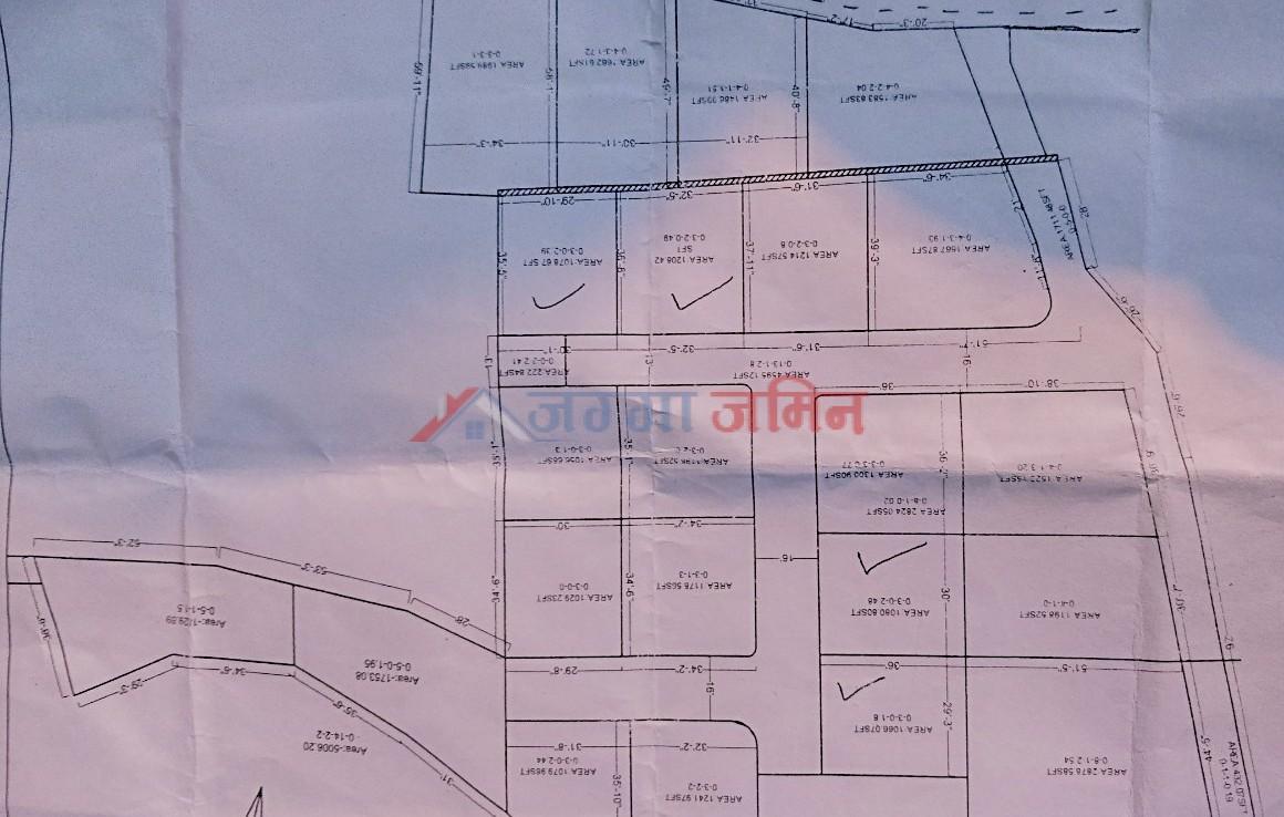 Plotted Land Sale at Badikhel, Godawari, Lalitpur