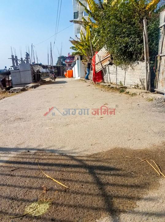 land near deuba chowk