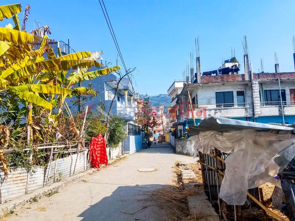 land near narayanthan temple
