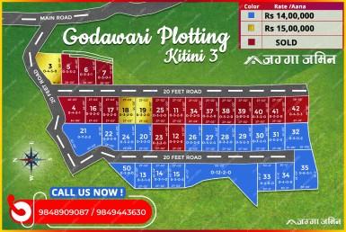 plotting trace at godawari